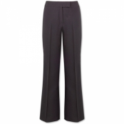 Lady' s easy-care wide leg trousers