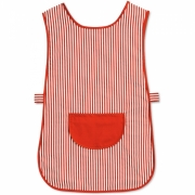 STRIPED TABARD WITH POCKET