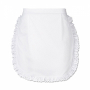 WAIST APRON WITH LACE